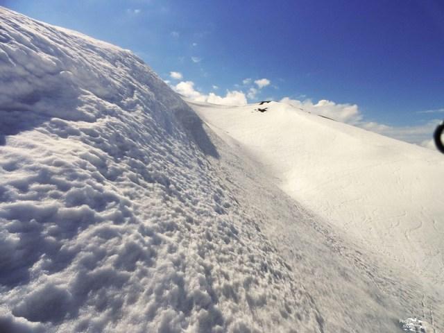 Vista del Malacara, desde la llegada al Col de Astún