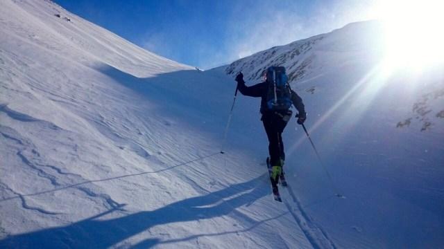 Subiendo hacia el Col des Moines