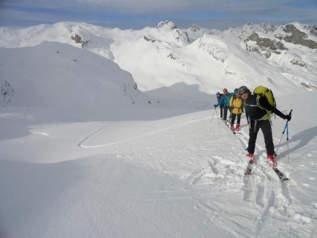 Subiendo hacia el Col d' Aneou