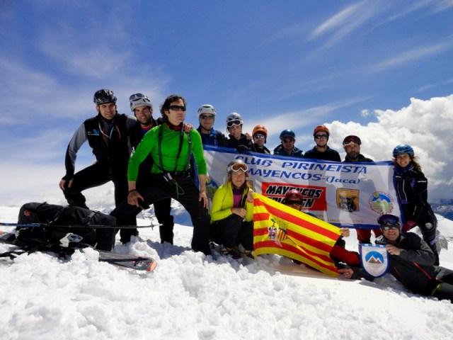 Homenaje a S. Jorge, el patrón de Aragón