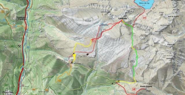 Mapa General del itinerario que hicimos