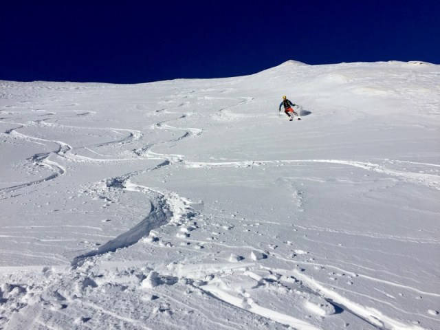 Fantástica nieve polvo