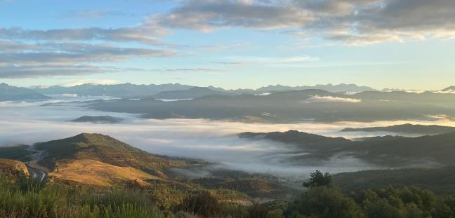 Pirineos desde Monrepos