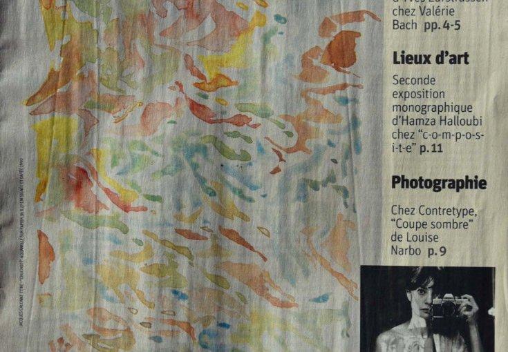 Jacques Calonne dans Arts-Libre de La Libre Belgique
