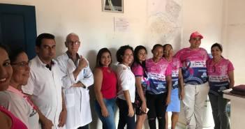 Secretaria Municipal de Saúde realizou abertura da programação do Outubro Rosa