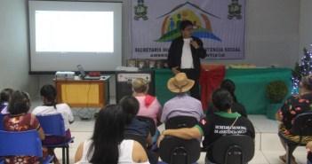 Secretaria Municipal de Assistência Social Realizou Confraternização com os idosos