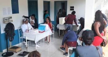 Secretaria Municipal de Saúde está realizando Ação Saúde nas comunidades de São José e Porto Rico