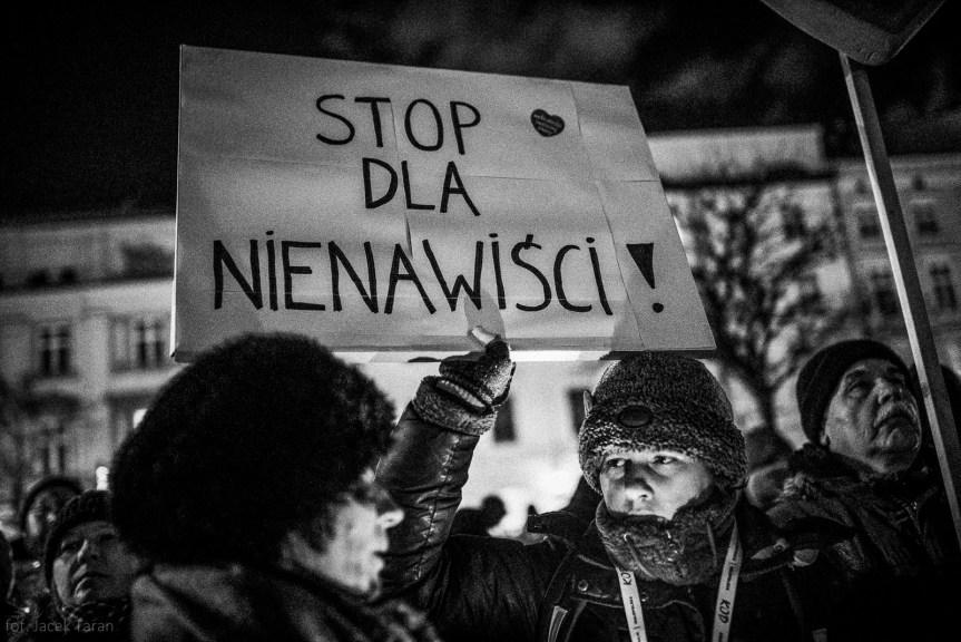 Paweł Adamowicz, zabojstwo, Krakow pamieta