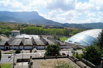 Vista aérea de las instalaciones deportivas.
