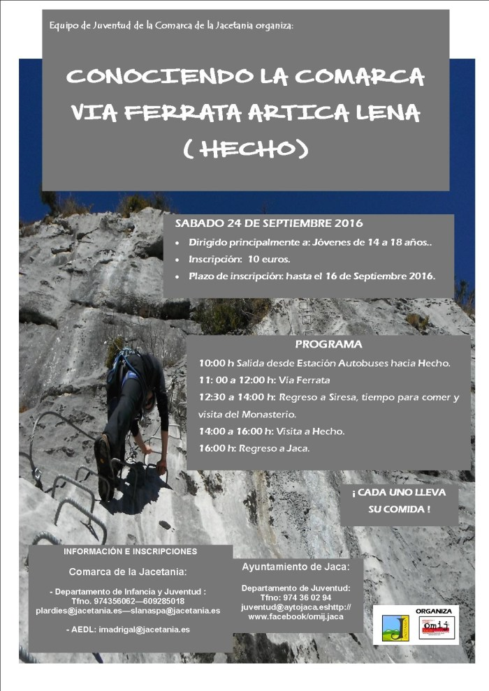 cartel via ferrata