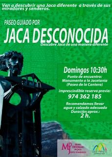 cartel JACA DESCONOCIDA