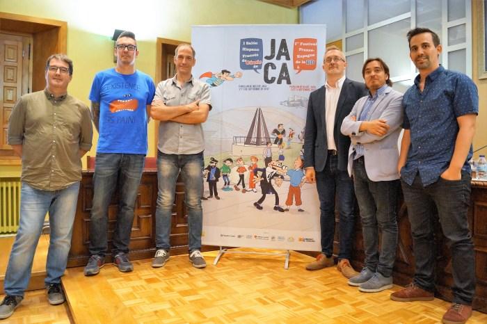 De izquierda a derecha Daniel Viñuales, Javier Marquina, Chesus Calvo, Juan Manuel Ramón, Nacho Escuín y José Antonio Bernal.
