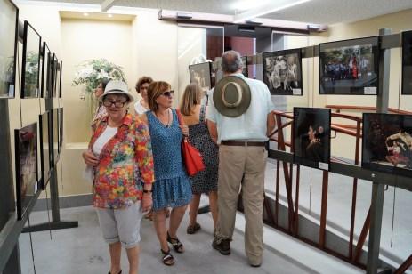 Público durante las primeras horas. (FOTO: Rebeca Ruiz)