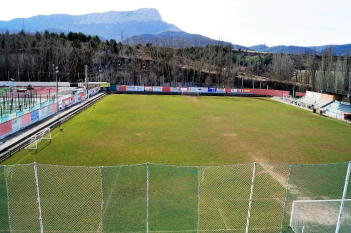 Campo de fútbol Oroel. FOTO: Rebeca Ruiz