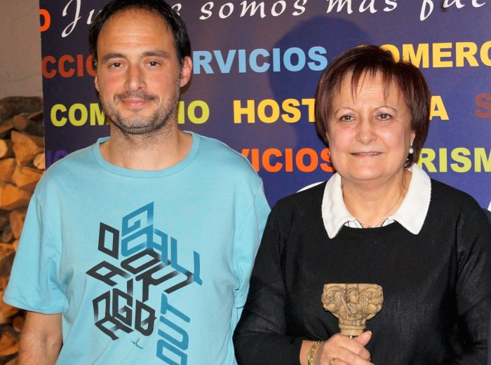 Irene Casamián y Pedro Arcas