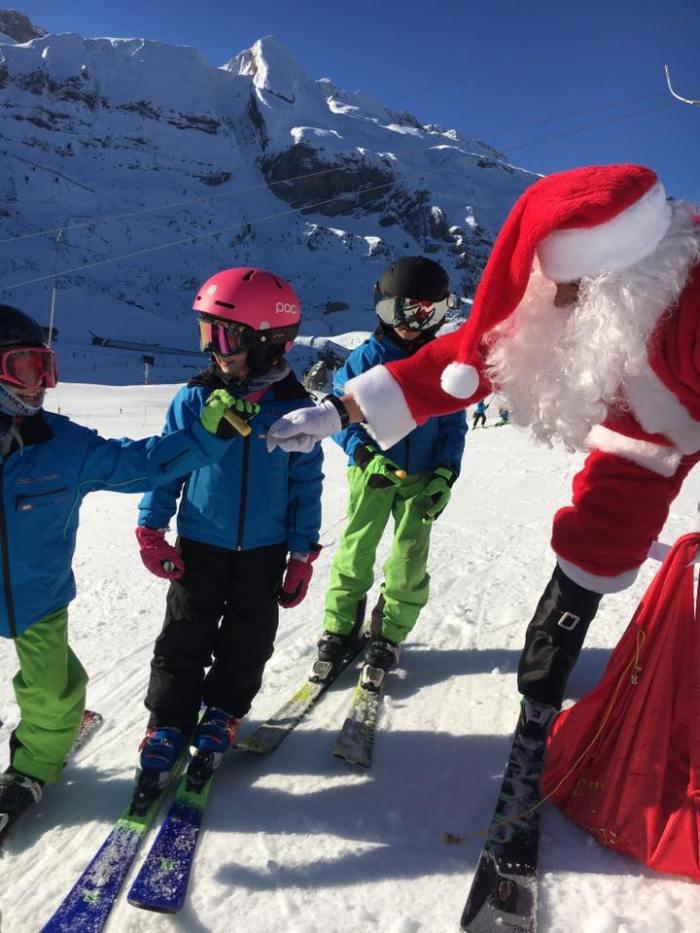 Papá Noel en Candanchú
