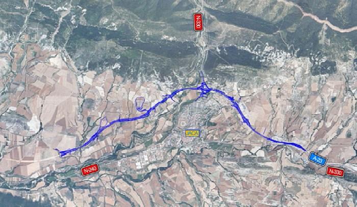 Plano de situación del proyecto aprobado de variante
