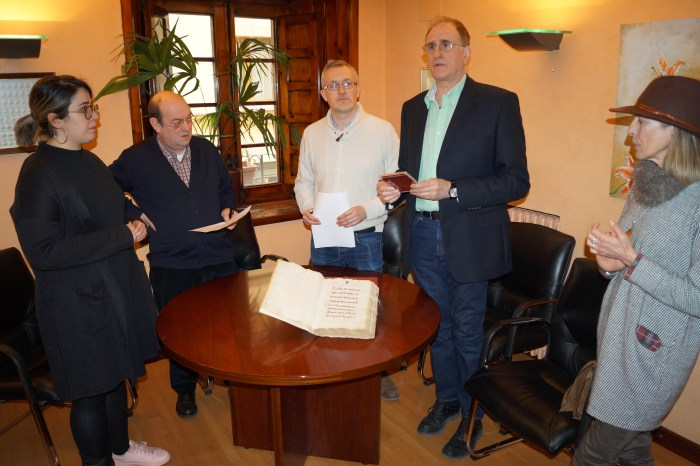 Blanca Calavera, Manuel Lasala, Juan Manuel Ramón, Juan Carlos Moreno y Pili Rubio.