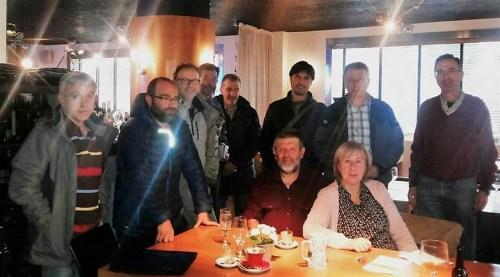 Agentes sociales que se reunieron con Joaquín Palacín