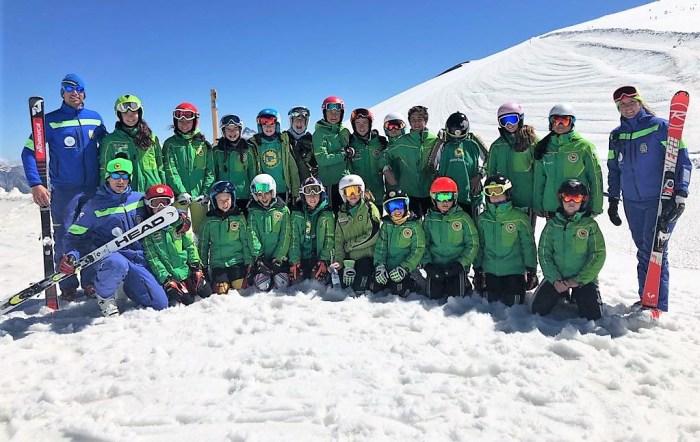 FOTO GRUPO NIEVE Panticosa Esqui club