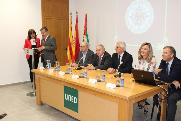 UNED Sabiñanigo intervenciones inauguración sede