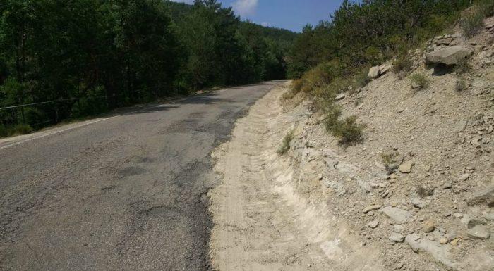 ACONDICIONAMIENTO. La carretera de La Guarguera, en una imagen de archivo.
