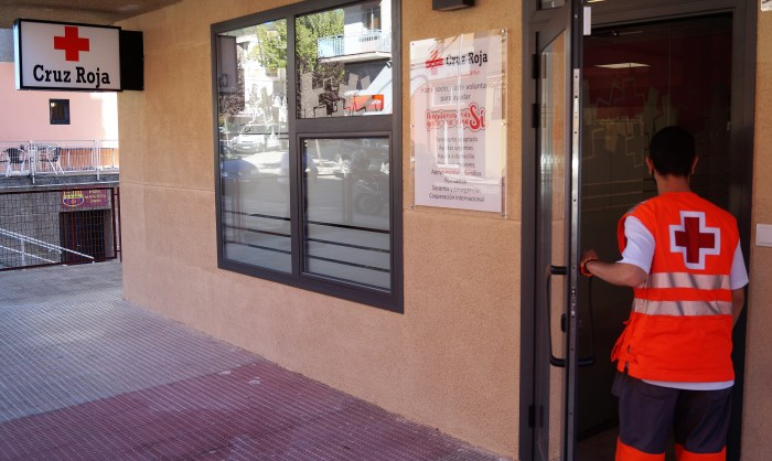 JACA. Sede de Cruz Roja Jacetania. (FOTO: Rebeca Ruiz)