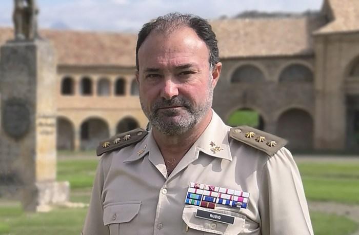 Coronel Francisco Rubio Damián.