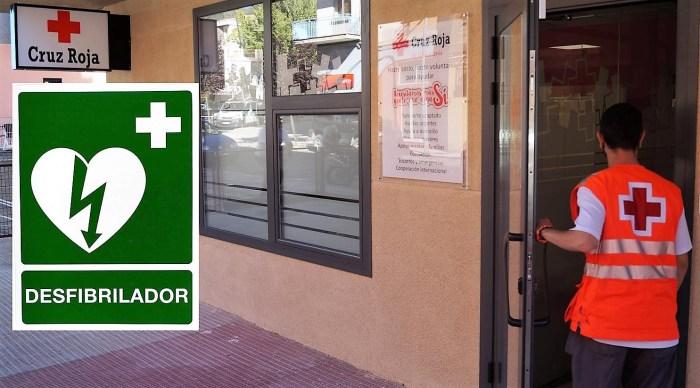 Curso de desfibrilador semi automático en Cruz Roja Jaca. (FOTO: Rebeca Ruiz)