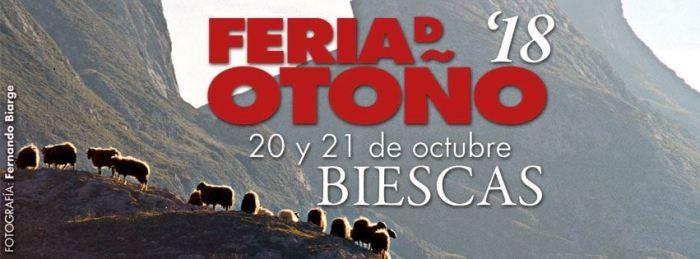 cartel Feria de Otoño de Biescas horiz
