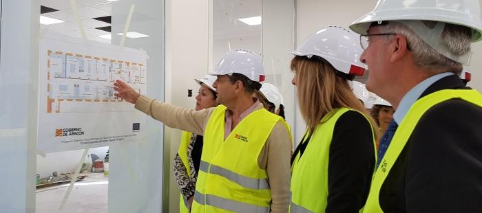 El laboratorio para la descontaminación de lindano de Pirenarium, en 2019
