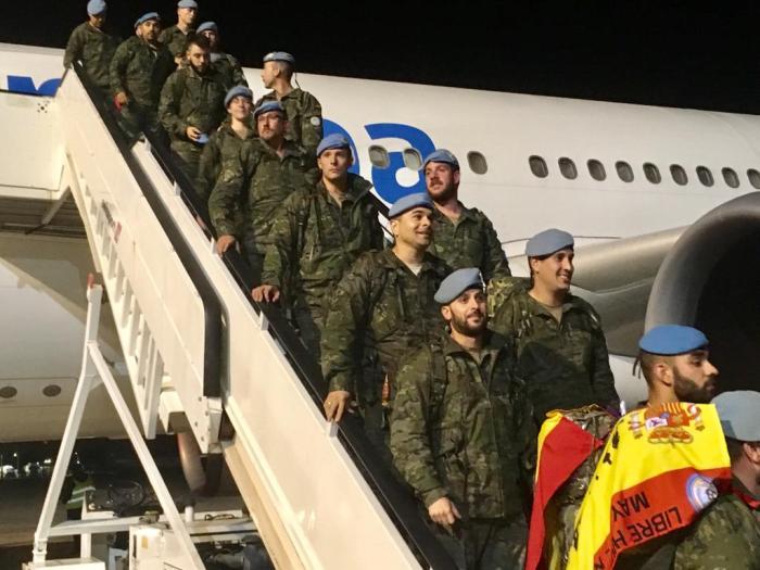 Regreso Militares Líbano (1)