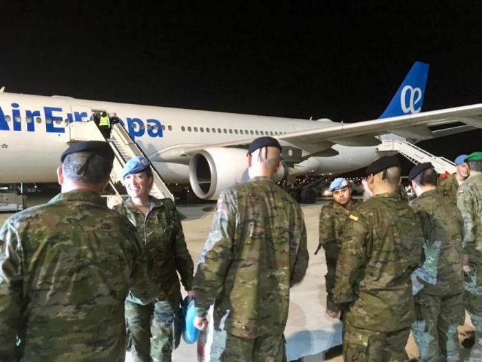 Regreso Militares Líbano (2)