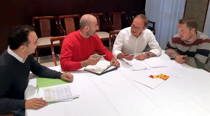 Reunión de trabajo PAR Jacetania 19-11-18
