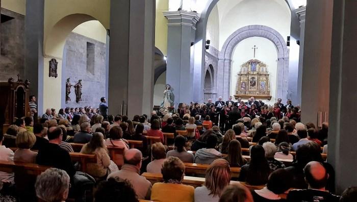 ACTUACIÓN MUSICAL. El Orfeón Jacetano, en una imagen de archivo. (FOTO: Rebeca Ruiz)