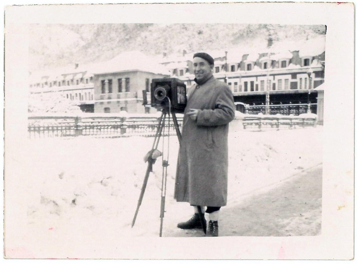 Los fondos del archivo de Foto Barrio se muestran en el Palacio de Congresos de Jaca