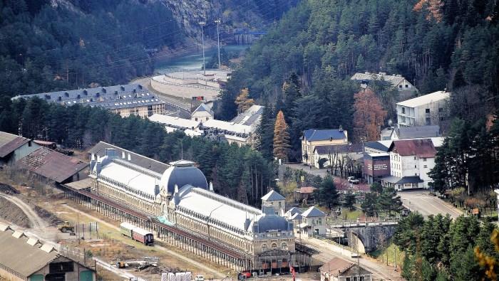 ESTACIÓN INTERNACIONAL. Imagen de archivo de la Estación Internacional de Canfranc (FOTO: Rebeca Ruiz)