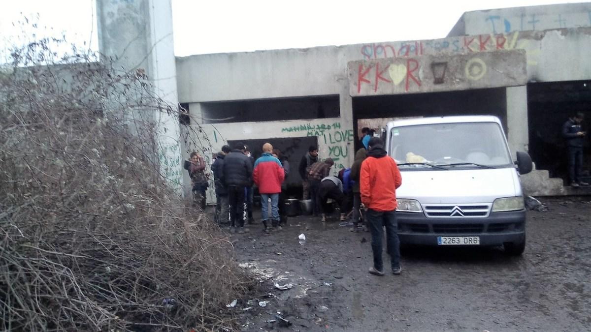 Impiden al cooperante serrablés Luis Alonso y a la ONG NNK ayudar a los refugiados en Bosnia
