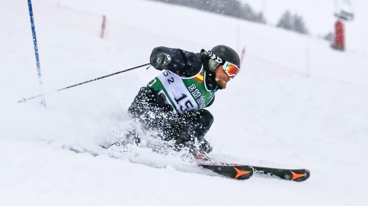 Los Campeonatos Nacionales Militares de Esquí reúnen a los mejores atletas en Candanchú