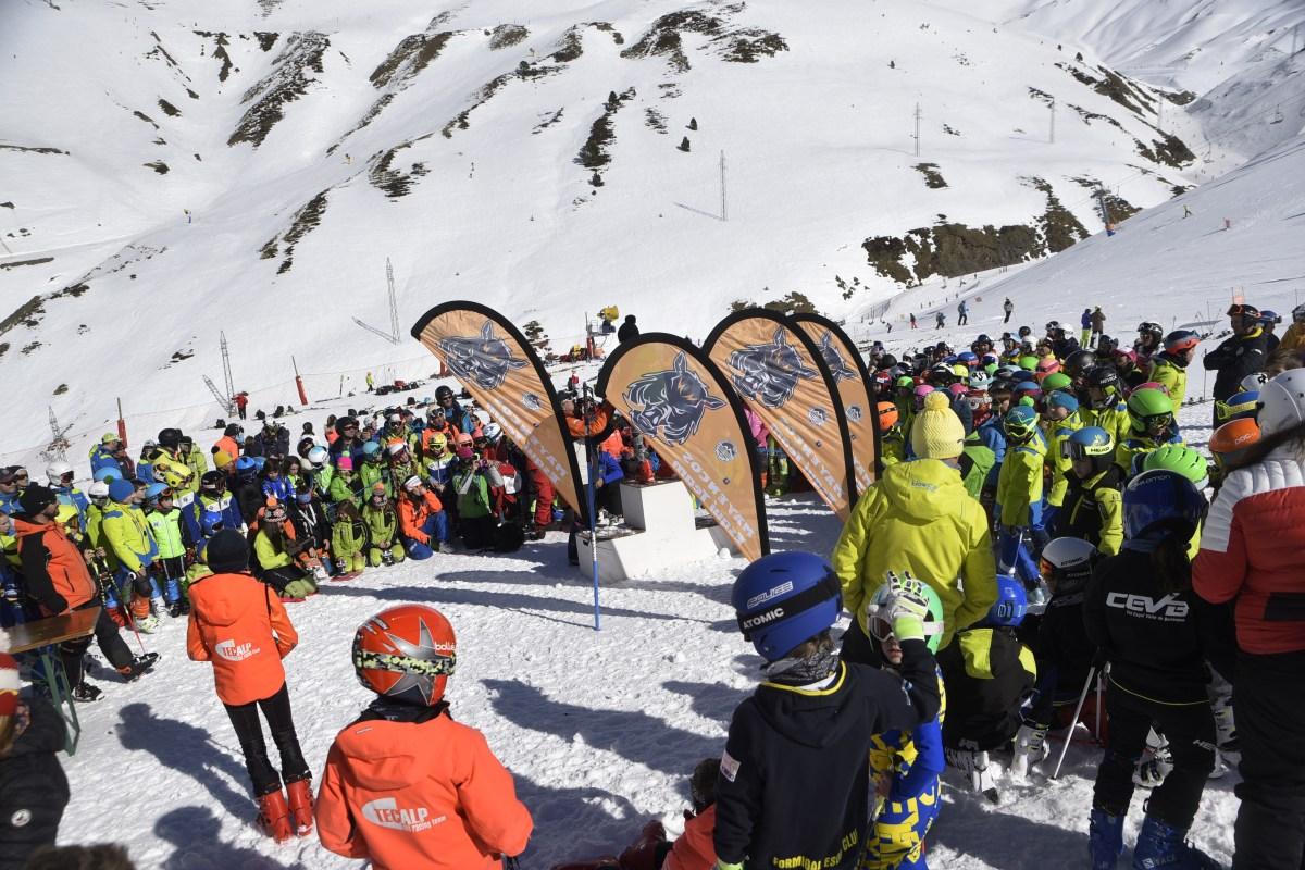 Excelente nivel, gran participación y mucho sol, en el XX Trofeo Valle de Astún