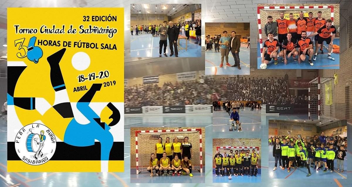 La Murga calienta motores para las 36 horas de Fútbol Sala de Sabiñánigo