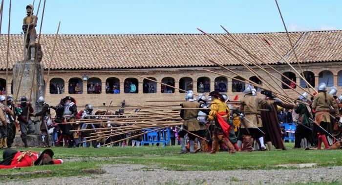 TERCIOS. Recreación histórica de 2018. (FOTO: Rebeca Ruiz)