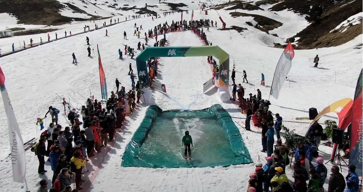 Aramón cierra la temporada con más de un millón de esquiadores y un febrero histórico