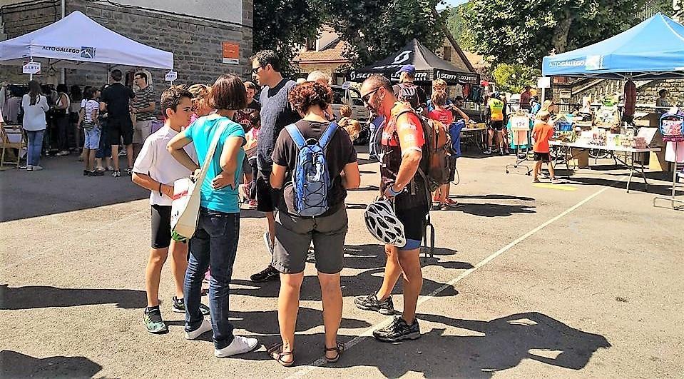 El polideportivo de Biescas vuelve a abrir sus puertas a la Feria del Stock el próximo 20 de abril
