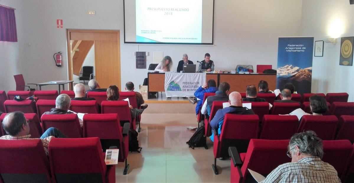El Club Pirineísta Mayencos, en la Asamblea General de la Federación Aragonesa de Montañismo