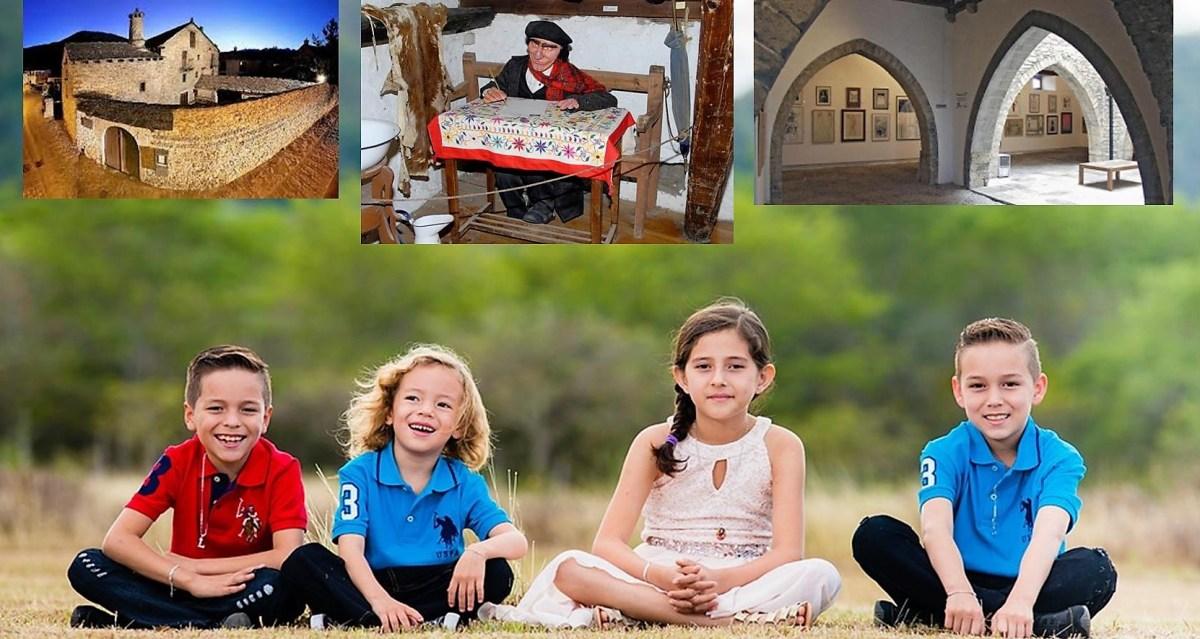 Turismo cultural con niños en Sabiñánigo