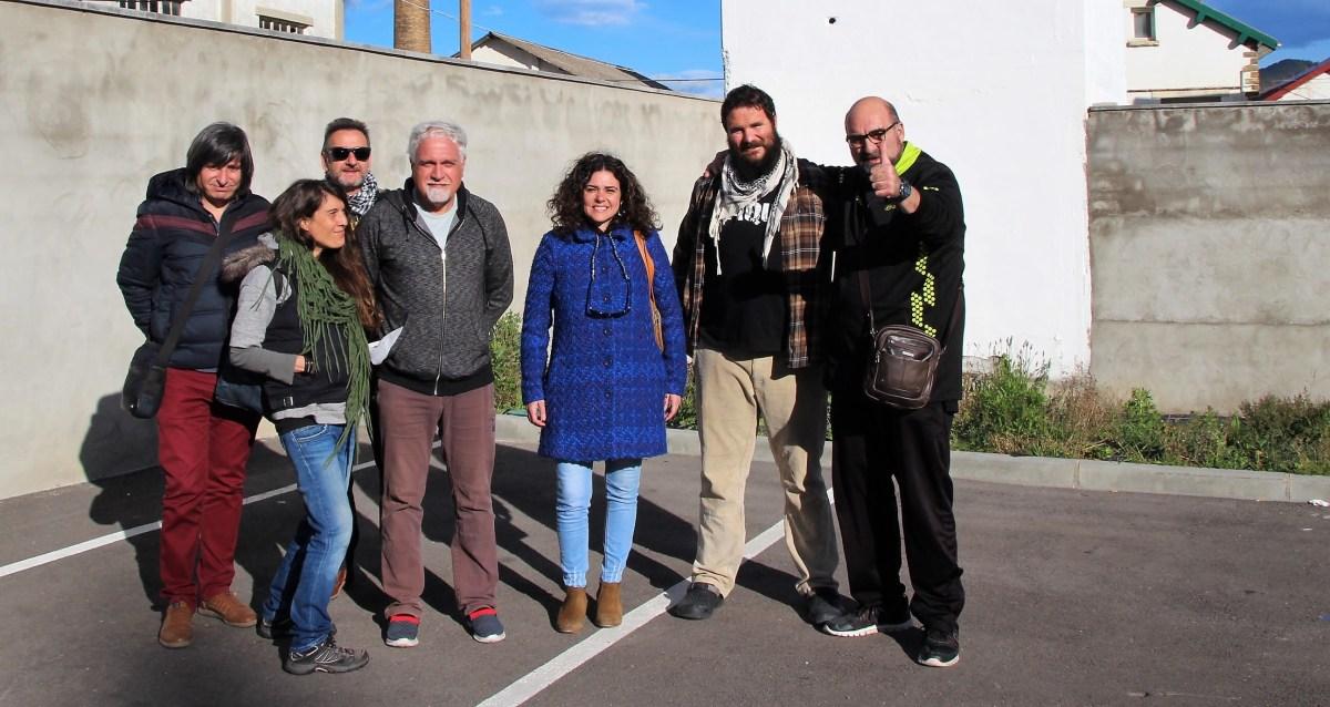 Podemos-Equo analiza en Sabiñánigo el futuro de los polígonos industriales y el proyecto de Pardinilla y Martillué