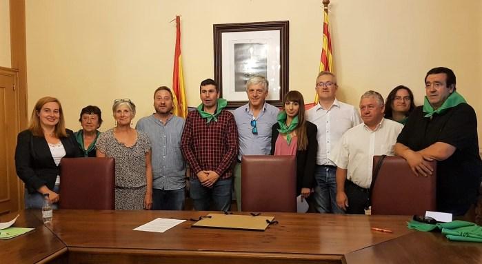 ALAIN ROUSSET. Alain Rousset ya es Hijo Adoptivo de Canfranc, aunque no ha podido recoger personalmente su título. (FOTO: Gobierno de Aragón)
