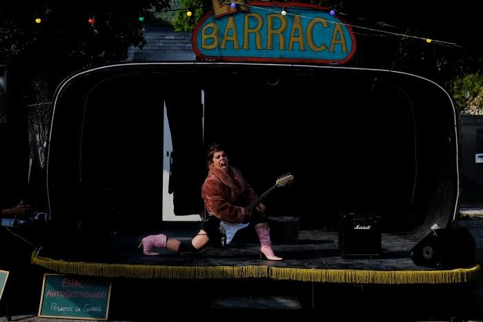 TEATRO. Cabaret de payasas. (FOTO: Pedro Anguila)