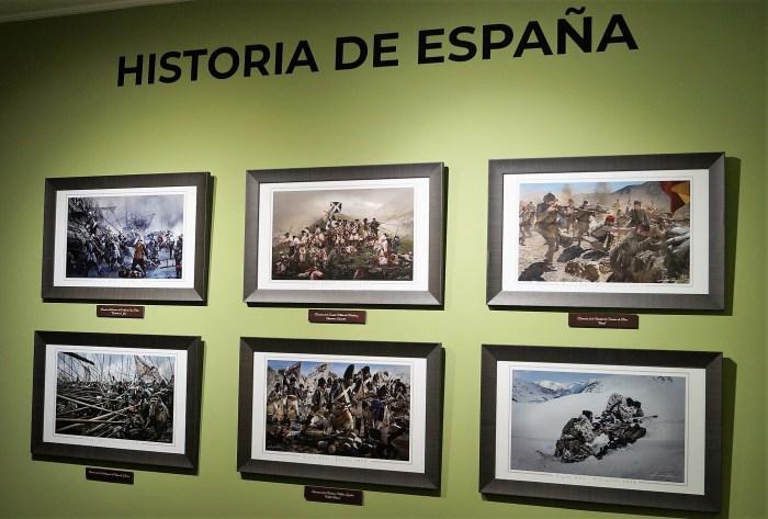 SALA HISTÓRICA. Obra de Jordi Bru. (FOTO: Rebeca Ruiz)